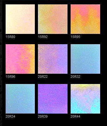 玻璃马赛克单粒色样 玻璃马赛克益阳总汇产品分类 -幻彩